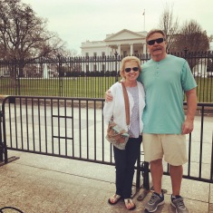 Dana's parents visit the White House