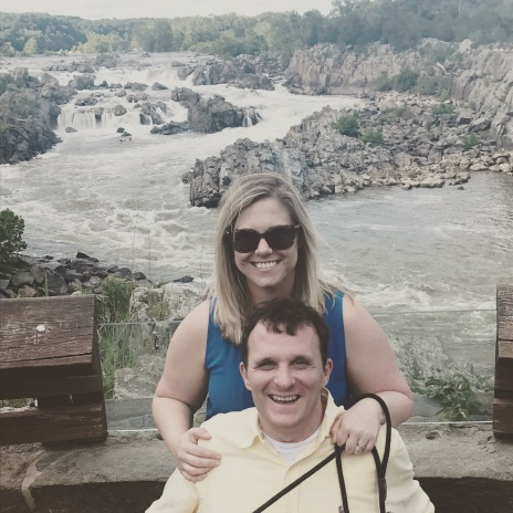 At Great Falls Park, not far from where we live