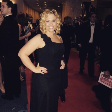 Red carpet at the White House Correspondents Dinner